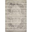 """Loloi Mika MIK-12 Indoor/Outdoor Power Loomed 2' 5"""" x 7' 8"""" Runner Rug in Stone and Ivory (MIKAMIK-12SNIV2578)"""