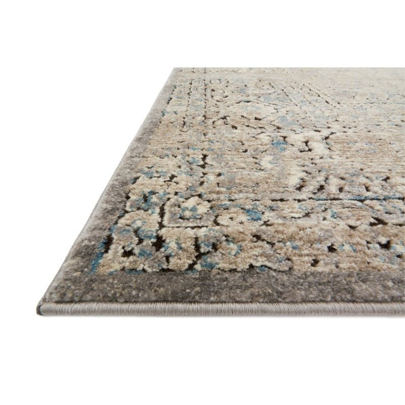 "Loloi Millennium MV-01 6' 7"" x 9' 2"" Rectangle Rug in Grey and Stone (MILLMV-01GYSN6792)"