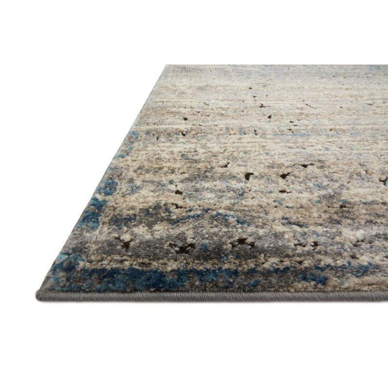"Loloi Millennium MV-02 2' 7"" x 4' Rectangle Rug in Grey and Blue (MILLMV-02GYBB2740)"