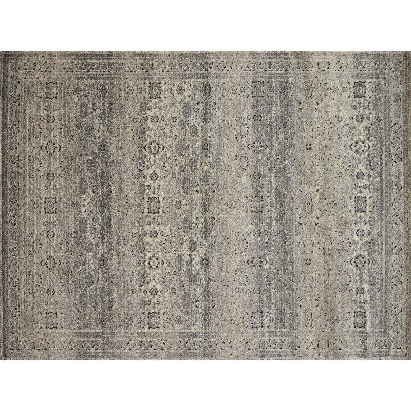"Loloi Millennium MV-02 2' 8"" x 7' 6"" Runner Rug in Grey and Charcoal (MILLMV-02GYCC2876)"