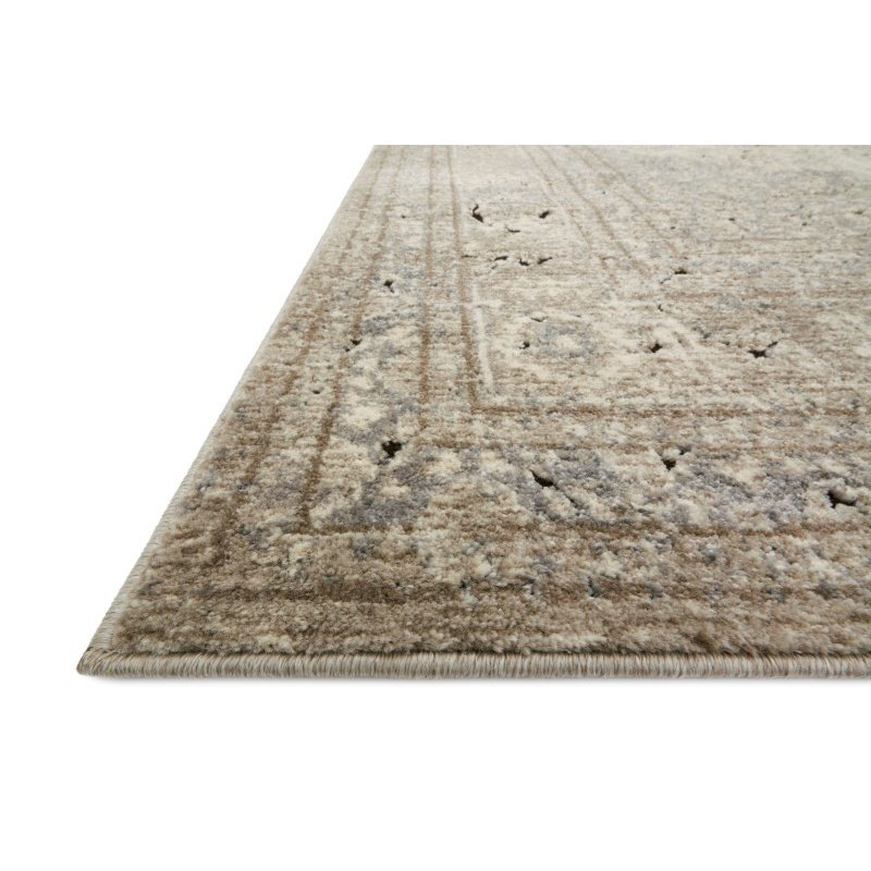 "Loloi Millennium MV-03 1' 6"" x 1' 6"" Square Rug in Sand and Ivory (MILLMV-03SAIV160S)"