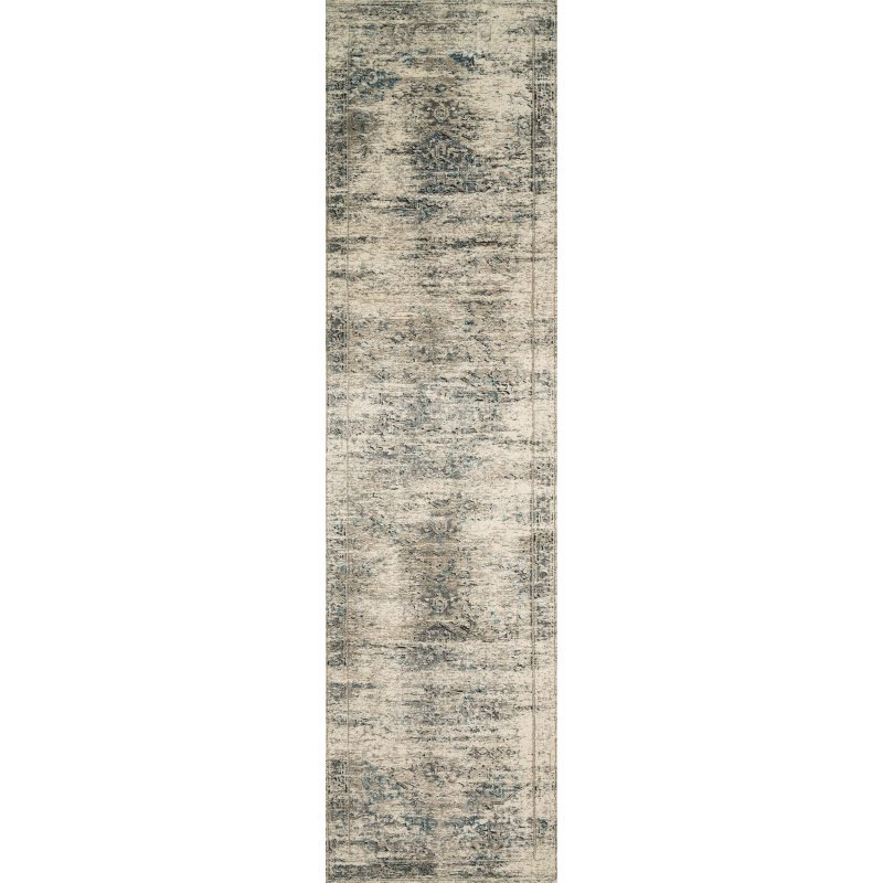 """Loloi Millennium MV-04 2' 8"""" x 10' 6"""" Runner Rug in Taupe and Ivory (MILLMV-04TAIV28A6)"""