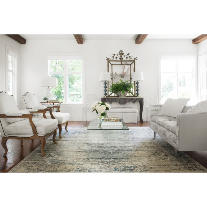 """Loloi Millennium MV-04 9' 6"""" x 13' Rectangle Rug in Taupe and Ivory (MILLMV-04TAIV96D0)"""