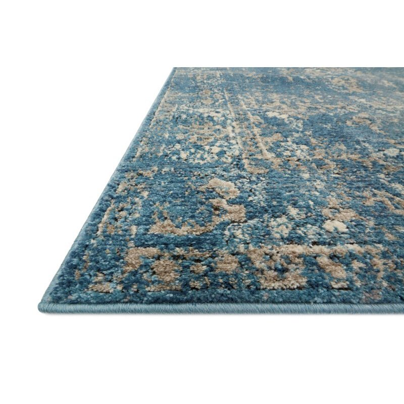"Loloi Millennium MV-05 2' 7"" x 4' Rectangle Rug in Blue and Taupe (MILLMV-05BBTA2740)"