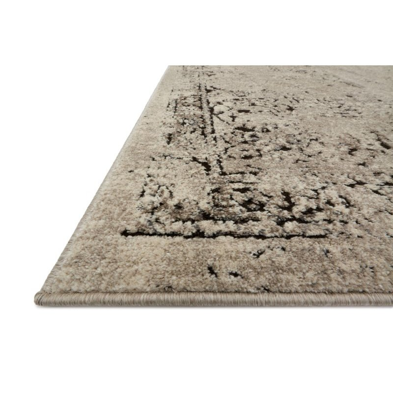 """Loloi Millennium MV-06 7' 7"""" Round Rug in Stone and Charcoal (MILLMV-06SNCC770R)"""