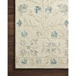 "Loloi Norabel NOR-02 Contemporary Hooked 3' 6"" x 5' 6"" Rectangle Rug in Ivory and Grey (NORBNOR-02IVGY3656)"