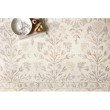 "Loloi Norabel NOR-02 Contemporary Hooked 5' x 7' 6"" Rectangle Rug in Ivory and Neutral (NORBNOR-02IVNE5076)"