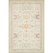 """Loloi Norabel NOR-03 Contemporary Hooked 7' 9"""" x 9' 9"""" Rectangle Rug in Ivory and Rust (NORBNOR-03IVRU7999)"""
