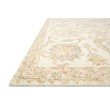 "Loloi Norabel NOR-04 Contemporary Hooked 5' x 7' 6"" Rectangle Rug in Ivory and Blush (NORBNOR-04IVBH5076)"