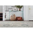 "Loloi Norabel NOR-04 Contemporary Hooked 9' 3"" x 13' Rectangle Rug in Ivory and Blue (NORBNOR-04IVBB93D0)"