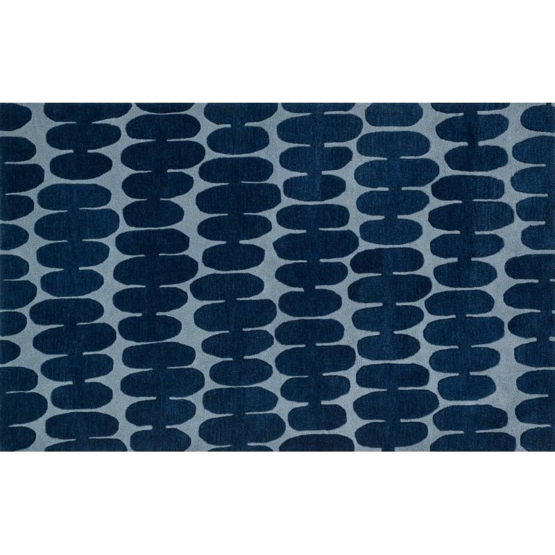 "Loloi Nova NV-05 Rug 7' 6"" Light Blue Square"