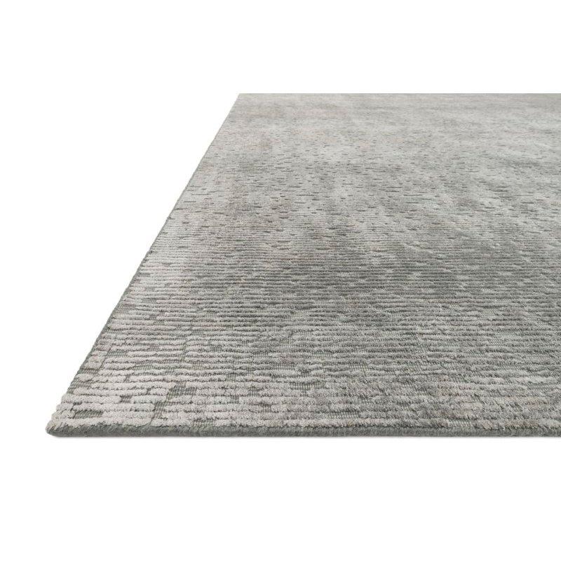 Loloi Ollie OLI-01 Transitional Hand Loomed 4' x 6' Rectangle Rug in Grey (OLLIOLI-01GY004060)