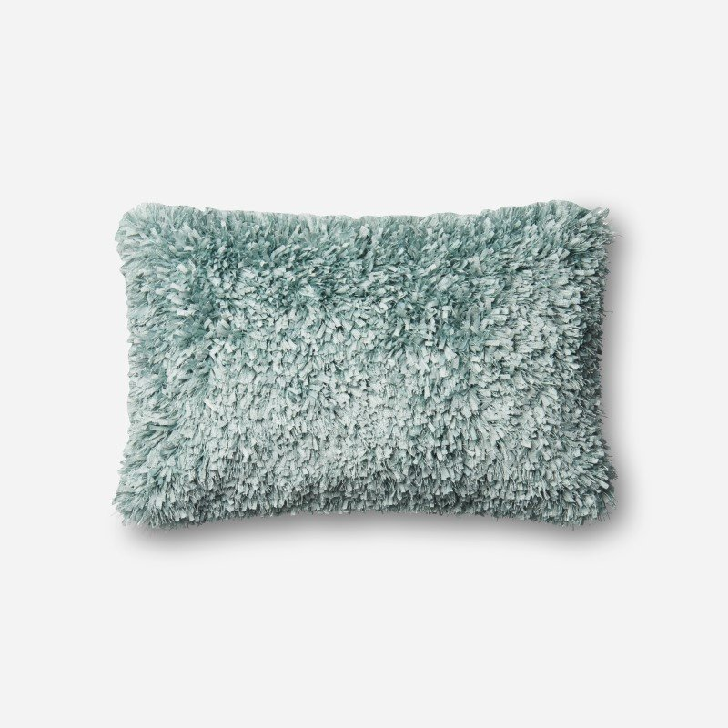 "Loloi P0045 Pillow 13"" x 21"" Cover w/ Down in Lt. Blue (DSETP0045LB00PIL5)"