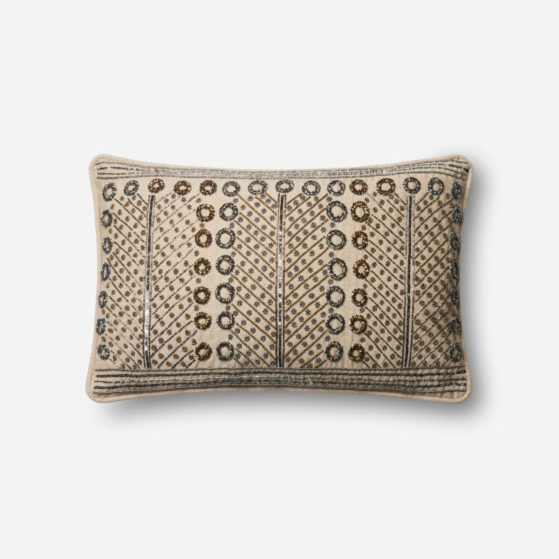 """Loloi P0609 Pillow 13"""" x 21"""" Cover w/ Poly in Multi (PSETP0609ML00PIL5)"""