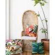 """Loloi P0753 Indoor/Outdoor Pillow 22"""" x 22"""" Cover with Down in Multi (DSETP0753ML00PIL3)"""