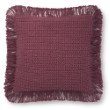 """Loloi P0806 Pillow 22"""" x 22"""" Cover with Poly in Rose (PSETP0806RO00PIL3)"""