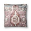 """Loloi P0822 Pillow 22"""" x 22"""" Cover Only in Multi (P027P0822ML00PIL3)"""