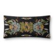 "Loloi P0826 Pillow 12"" x 27"" Cover Only in Black and Multi (P012P0826BLMLPI13)"