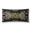 "Loloi P0826 Pillow 12"" x 27"" Cover with Poly in Black and Multi (PSETP0826BLMLPI13)"
