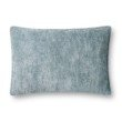 """Loloi P0831 Pillow 16"""" x 26"""" Cover Only in Lt. Blue (P100P0831LB00PI15)"""