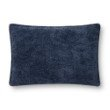 """Loloi P0831 Pillow 16"""" x 26"""" Cover Only in Navy (P100P0831NV00PI15)"""