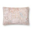 """Loloi P0855 16"""" x 26"""" Rectangle Pillow Cover with Poly in Multi (PSETP0855ML00PI15)"""