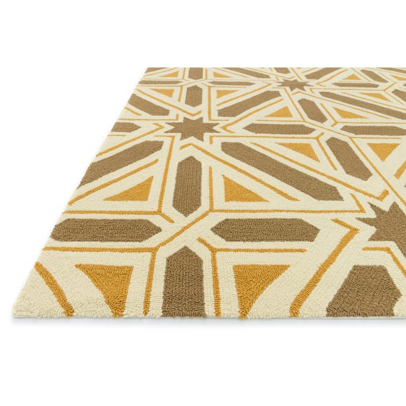 """Loloi Palm Springs PM-04 Rug 5' x 7' 6"""" Taupe Rectangle"""