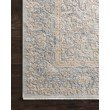 """Loloi Pandora PAN-01 Traditional Power Loomed 2' 6"""" x 10' Runner Rug in Stone and Gold (PANDPAN-01SNGO26A0)"""