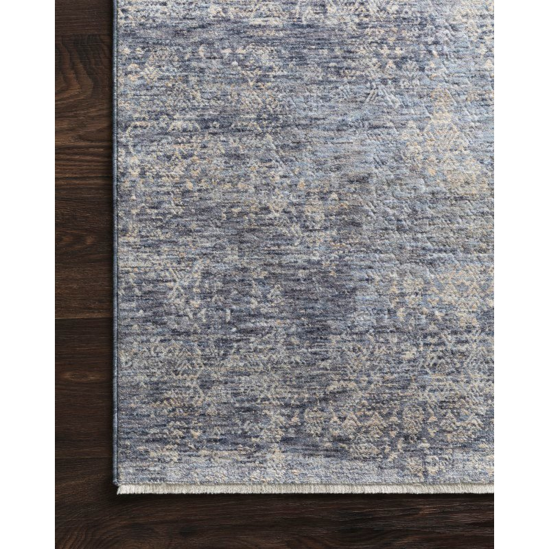 Loloi Pandora PAN-03 Traditional Power Loomed 5' x 8' Rectangle Rug in Dark Blue (PANDPAN-03XD005080)