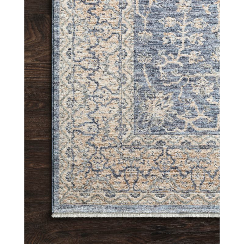 """Loloi Pandora PAN-04 Traditional Power Loomed 2' 6"""" x 8' Runner Rug in Dark Blue and Ivory (PANDPAN-04XDIV2680)"""