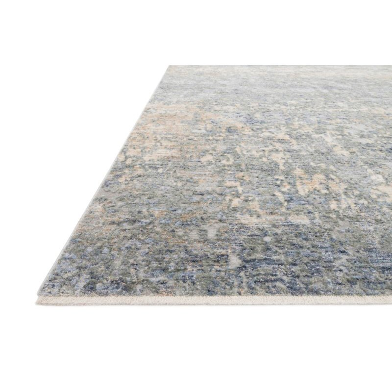 "Loloi Pandora PAN-05 Traditional Power Loomed 2' 6"" x 10' Runner Rug in Blue and Gold (PANDPAN-05BBGO26A0)"