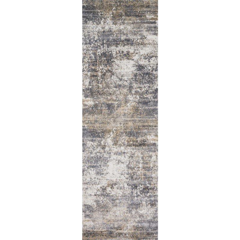 "Loloi Patina PJ-02 2' 7"" x 8' Runner Rug in Granite and Stone (PATIPJ-02GNSN2780)"