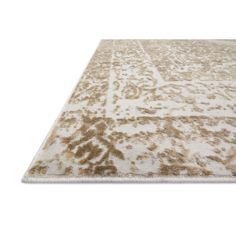 "Loloi Patina PJ-03 2' 7"" x 12' Runner Rug in Champagne and Lt. Grey (PATIPJ-03CHLC27C0)"