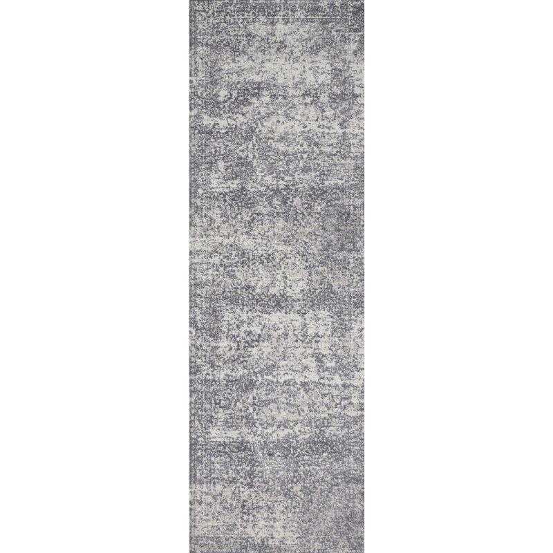 "Loloi Patina PJ-03 2' 7"" x 8' Runner Rug in Silver and Lt. Grey (PATIPJ-03SILC2780)"
