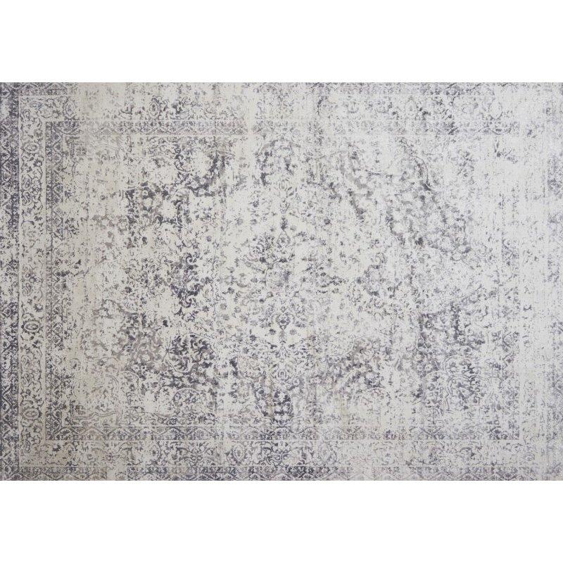 "Loloi Patina PJ-03 3' 7"" x 5' 7"" Rectangle Rug in Silver and Lt. Grey (PATIPJ-03SILC3757)"