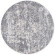 """Loloi Patina PJ-03 5' 3"""" Round Rug in Silver and Lt. Grey (PATIPJ-03SILC530R)"""