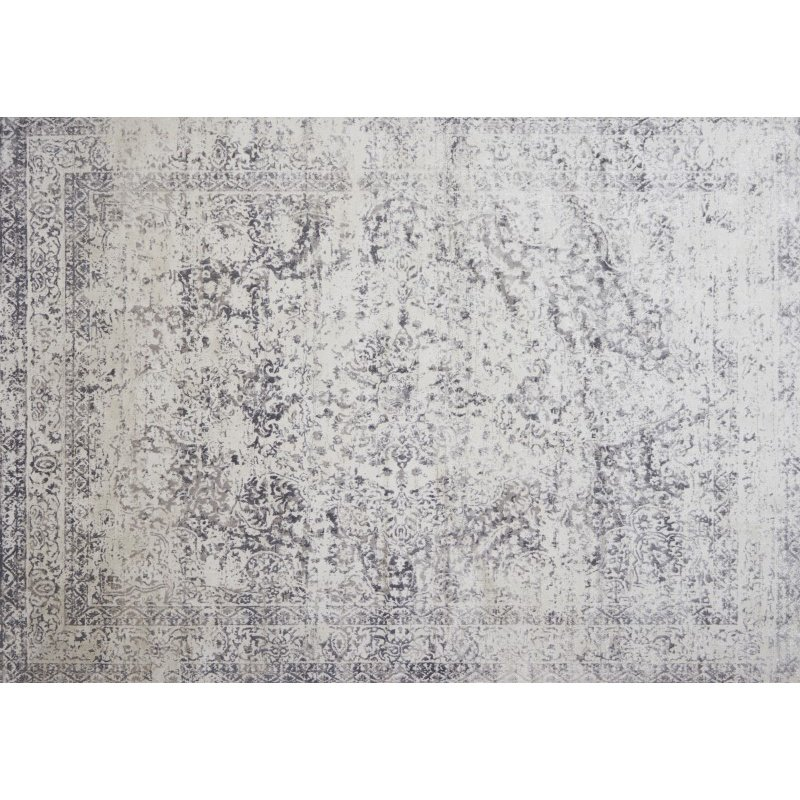 "Loloi Patina PJ-03 5' 3"" x 7' 8"" Rectangle Rug in Silver and Lt. Grey (PATIPJ-03SILC5378)"