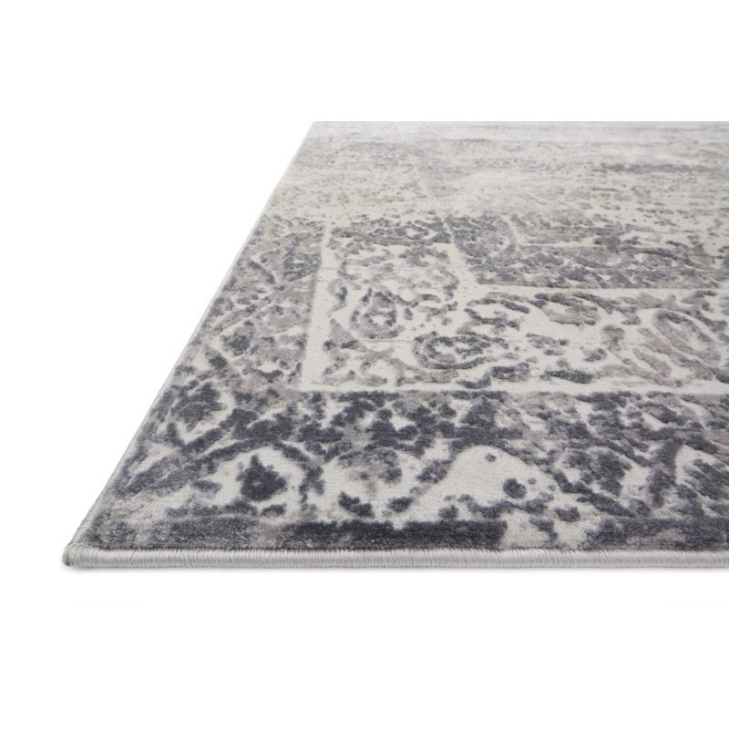 "Loloi Patina PJ-03 9' 6"" x 13' Rectangle Rug in Silver and Lt. Grey (PATIPJ-03SILC96D0)"