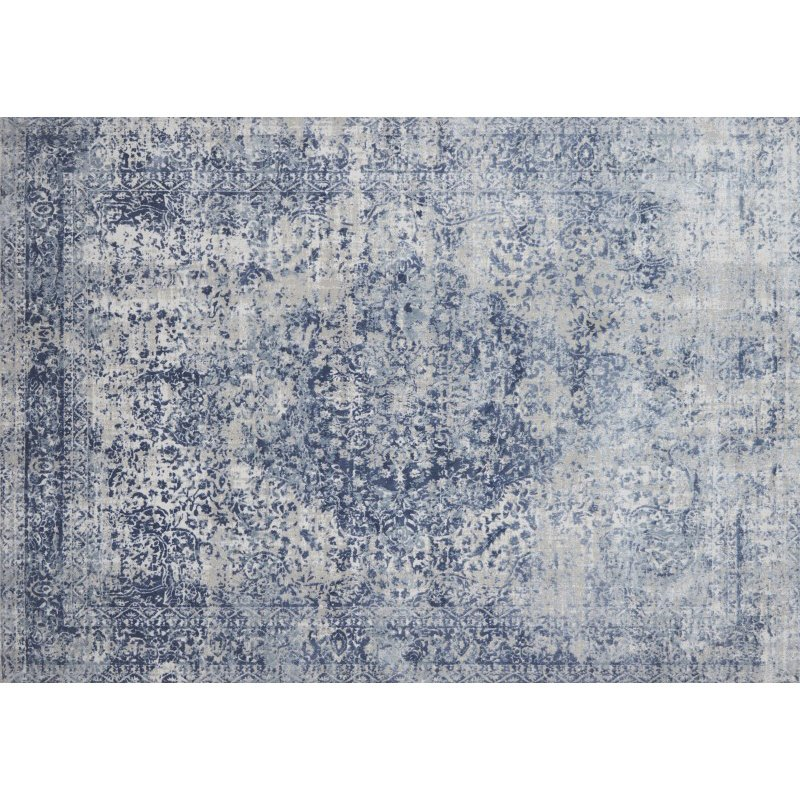 """Loloi Patina PJ-04 9' 6"""" x 13' Rectangle Rug in Blue and Stone (PATIPJ-04BBSN96D0)"""