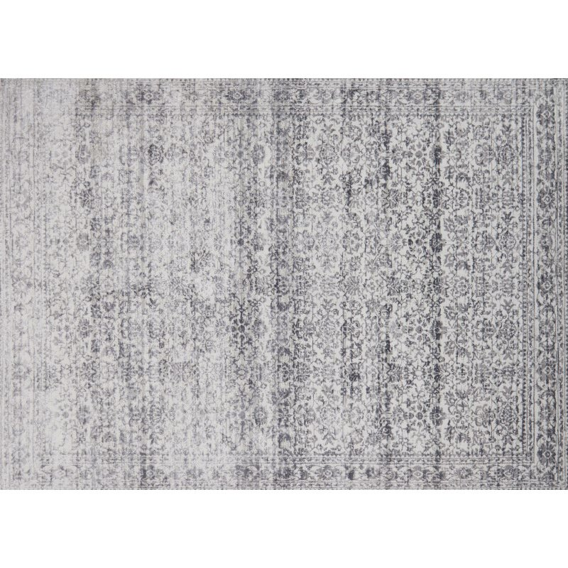 "Loloi Patina PJ-06 1' 6"" x 1' 6"" Square Rug in Pebble and Stone (PATIPJ-06PPSN160S)"