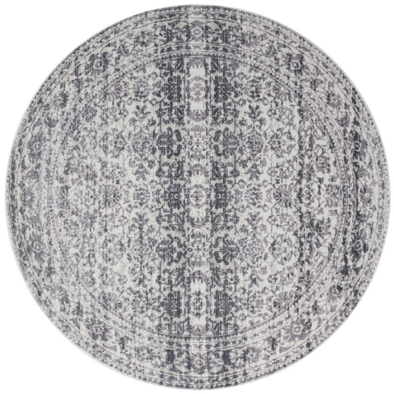 "Loloi Patina PJ-06 5' 3"" Round Rug in Pebble and Stone (PATIPJ-06PPSN530R)"