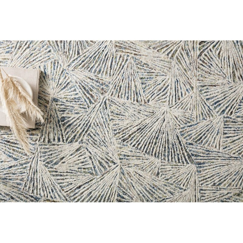 "Loloi Peregrine PER-01 Contemporary Hand Tufted 2' 6"" x 9' 9"" Runner Rug in Lagoon (PEREPER-01LJ002699)"
