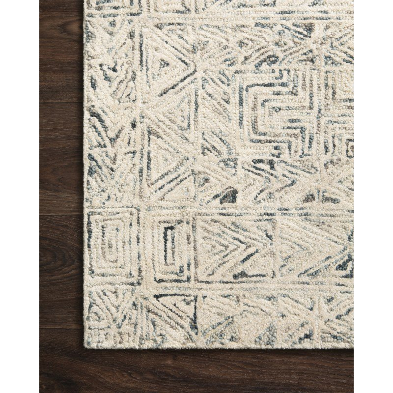 "Loloi Peregrine PER-03 Contemporary Hand Tufted 2' 6"" x 9' 9"" Runner Rug in Lt. Blue (PEREPER-03LB002699)"