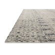 """Loloi Peregrine PER-06 Contemporary Hand Tufted 2' 6"""" x 9' 9"""" Runner Rug in Charcoal (PEREPER-06CC002699)"""