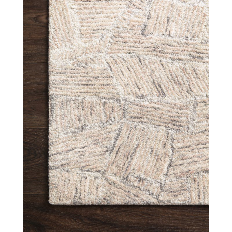 "Loloi Peregrine PER-07 Contemporary Hand Tufted 2' 6"" x 9' 9"" Runner Rug in Blush (PEREPER-07BH002699)"