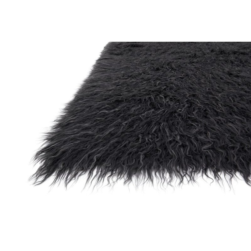 """Loloi Petra PV-01 5' x 7' 6"""" Rectangle Rug in Charcoal and Grey (PETRPV-01CCGY5076)"""