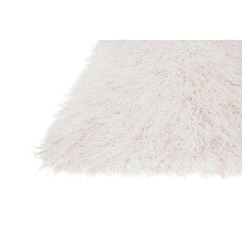 "Loloi Petra PV-01 5' x 7' 6"" Rectangle Rug in Ivory and Lilac (PETRPV-01IVLI5076)"