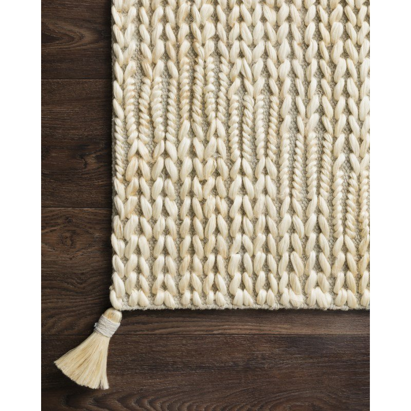 """Loloi Playa PLY-01 Contemporary Hand Woven 9' 3"""" x 13' Rectangle Rug in Lt Grey and Ivory (PLAYPLY-01LCIV93D0)"""