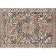 """Loloi Porcia PB-01 2' 8"""" x 10' Runner Rug in Ivory and Beige (PORCPB-01IVBE28A0)"""