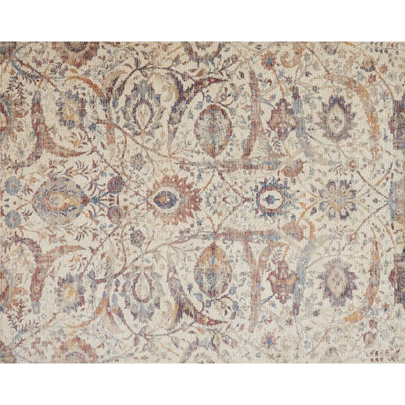 """Loloi Porcia PB-03 7' 10"""" x 10' Rectangle Rug in Ivory and Multi (PORCPB-03IVML7AA0)"""
